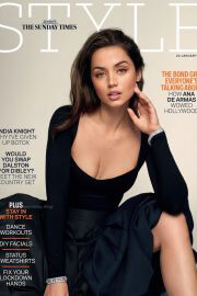 Ana de Armas on the Cover Photoshoot of The Sunday Times Style Magazine, January 2021 6