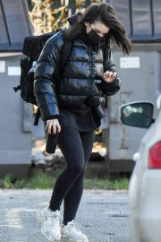 Faye Brookes Leaves Training Session in Manchester 02/10/2021 2