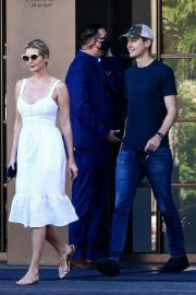 Ivanka Trump in White Dress and Jared Kushner Leaves Her Property in Miami, Florida 02/09/2021 1