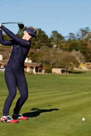 Kathryn Newton Plays in AT&T Pebble Beach Pro Am Golf Tournament 02/10/2021 1