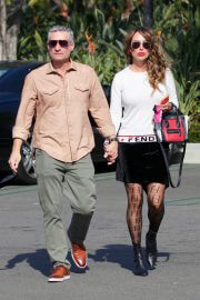 Kelly Dodd and Rick Leventhal Out for Lunch in Newport Beach 02/11/2021 3