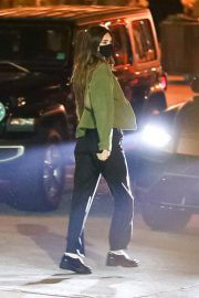 Kendall Jenner After Dinner Night Out in Los Angeles 02/10/2021 4