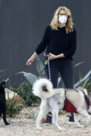 Laura Dern Out with Her Dogs on Her Birthday in Los Angeles 02/10/2021 4