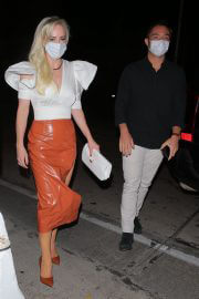 Louise Linton After Dinner at Craig's in West Hollywood 02/11/2021 2