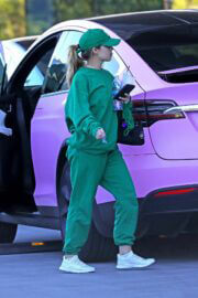 Addison Rae is Arriving at Dogpound Gym in Los Angeles 03/24/2021 2