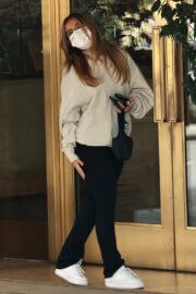 Addison Rae is Seen Leaving Sunset Towers in West Hollywood 03/25/2021 4