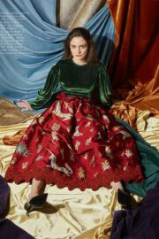 Aisling Franciosi covers Visual Tales Magazine, March 2021 12