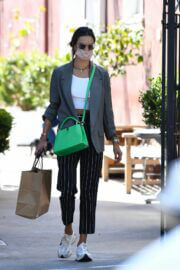 Alessandra Ambrosio Picks up Lunch at Brentwood Country Mart 03/22/2021 6