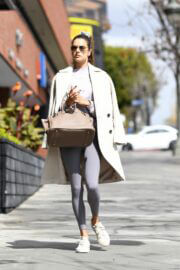 Alessandra Ambrosio Steps Out for a Pilates Class in Los Angeles 03/10/2021 7