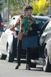 Alia Shawkat in Comfy Look Arrives at Her Office in Los Angeles 03/13/2021 4