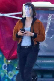 Ana de Armas Spotted on the Set of The Gray Man in Los Angeles 03/24/2021 2