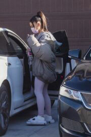 Ariana Grande Spotted at a Friend's House in Los Angeles 03/06/2021 1