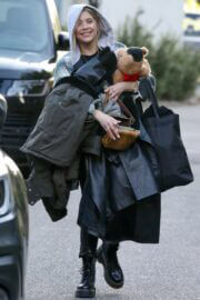 Ashley Benson Day Out with Her Dog in Encino 03/10/2021 4