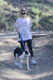 Ava Elizabeth Phillippe Steps Out Hiking with Her Dog in Brentwood 03/19/2021 7