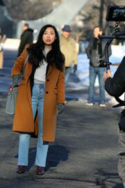 Awkwafina on the Set of Awkwafina is Nora from Queens 02/24/2021 2