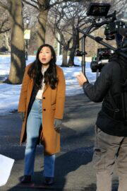 Awkwafina on the Set of Awkwafina is Nora from Queens 02/24/2021 5