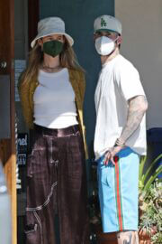 Behati Prinsloo and Adam Levine Day Out in Montecito 03/21/2021 5