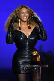 Beyonce attended 2021 Grammy Awards in Los Angeles 03/14/2021 1