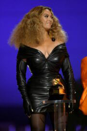 Beyonce attended 2021 Grammy Awards in Los Angeles 03/14/2021 2