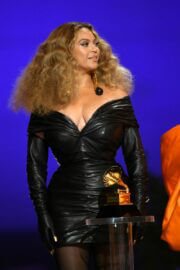 Beyonce attended 2021 Grammy Awards in Los Angeles 03/14/2021 3