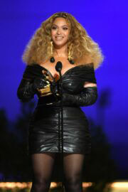 Beyonce attended 2021 Grammy Awards in Los Angeles 03/14/2021 4