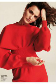 Blanca Padilla On The Cover Page Of Elle Magazine, France March 2021 2