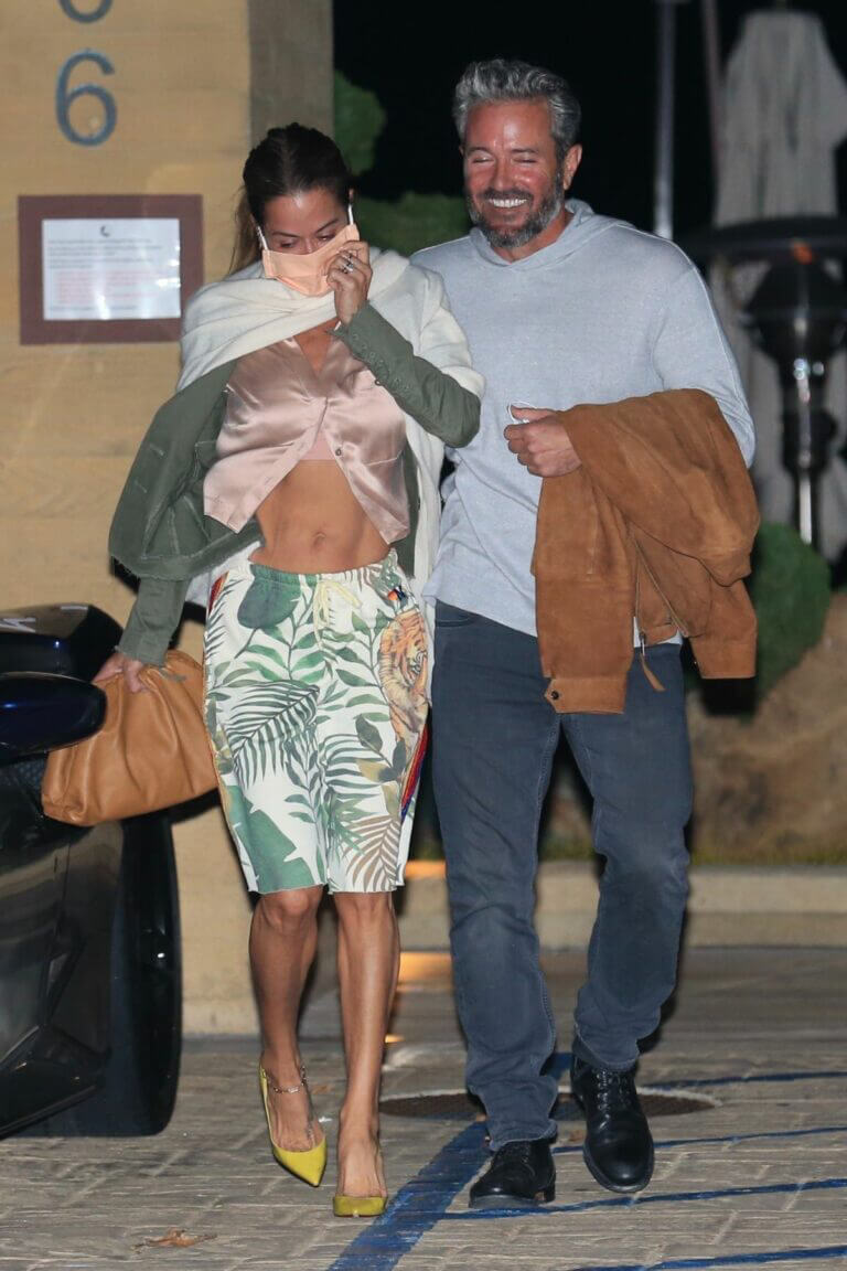 Brooke Burke and Scott Rigsby Night Out for Dinner in Malibu 03/21/2021 1