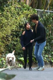 Camila Cabello and Shawn Mendes Hiking with Their Dog in Los Angeles 03/21/2021 4