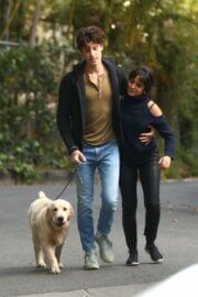 Camila Cabello and Shawn Mendes Hiking with Their Dog in Los Angeles 03/21/2021 5