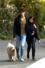 Camila Cabello and Shawn Mendes Hiking with Their Dog in Los Angeles 03/21/2021 7