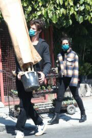 Camila Cabello and Shawn Mendes Shop for Plants and Flowers in Los Angeles 03/13/2021 1