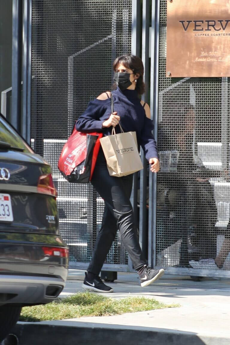 Camila Cabello is Seen Leaving Verve Cafe in West Hollywood 03/20/2021 1