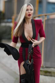 Caprice Bourret in a Skintight  Out and About in London 03/11/2021 2