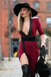 Caprice Bourret in a Skintight  Out and About in London 03/11/2021 3