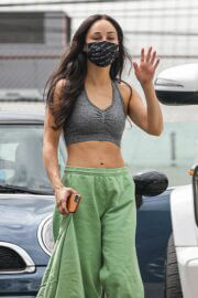 Cara Santana Spotted Leaving a Gym in Marina del Rey 03/25/2021 5