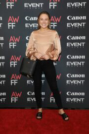 Casey Burgess Spotted at 2021 Australian Woman's Film Festival Launch 01/14/2021 1