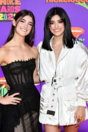 Charli and Dixie D'Amelio Spotted at Nickelodeon's 2021 Kids' Choice Awards in Santa Monica 03/13/2021 8