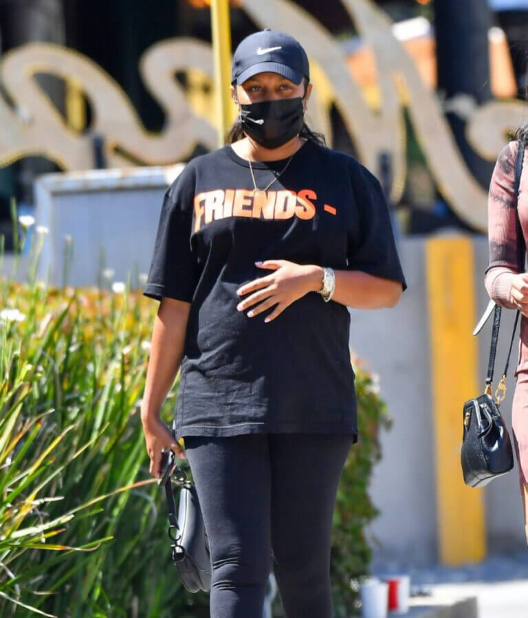 Cheyenne Floyd Steps Out for Lunch in West Hollywood 03/21/2021 1