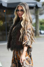 Chloe Sims is Seen on the Set of The Only Way is Essex 03/23/2021 5
