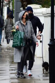 Christine and Frank Lampard Day Out with Their Dog in London 03/25/2021 3