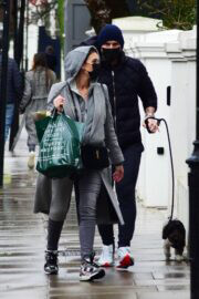 Christine and Frank Lampard Day Out with Their Dog in London 03/25/2021 7