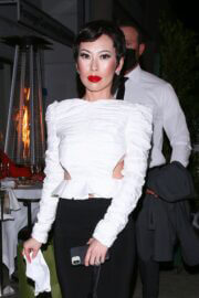 Christine Chiu in Kathy Hilton's Birthday Party at Mr. Chow 03/13/2021 6