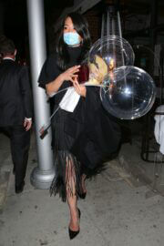 Crystal Kung Minkoff Seen While Leaving Kathy Hilton's Birthday Party 03/13/2021 2