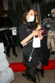 Crystal Kung Minkoff Seen While Leaving Kathy Hilton's Birthday Party 03/13/2021 3