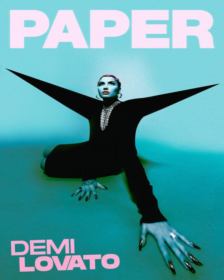 Demi Lovato on the Cover Page of Paper Magazine, March 2021 1