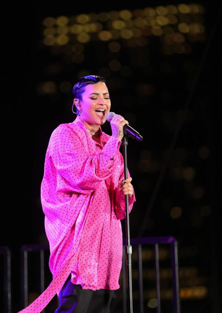Demi Lovato Performance at Premiere of Her New Youtube Docuseries in Beverly Hills 03/22/2021 1