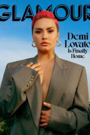 Demi Lovato The Cover Girl for Glamour Magazine, March 2021 7