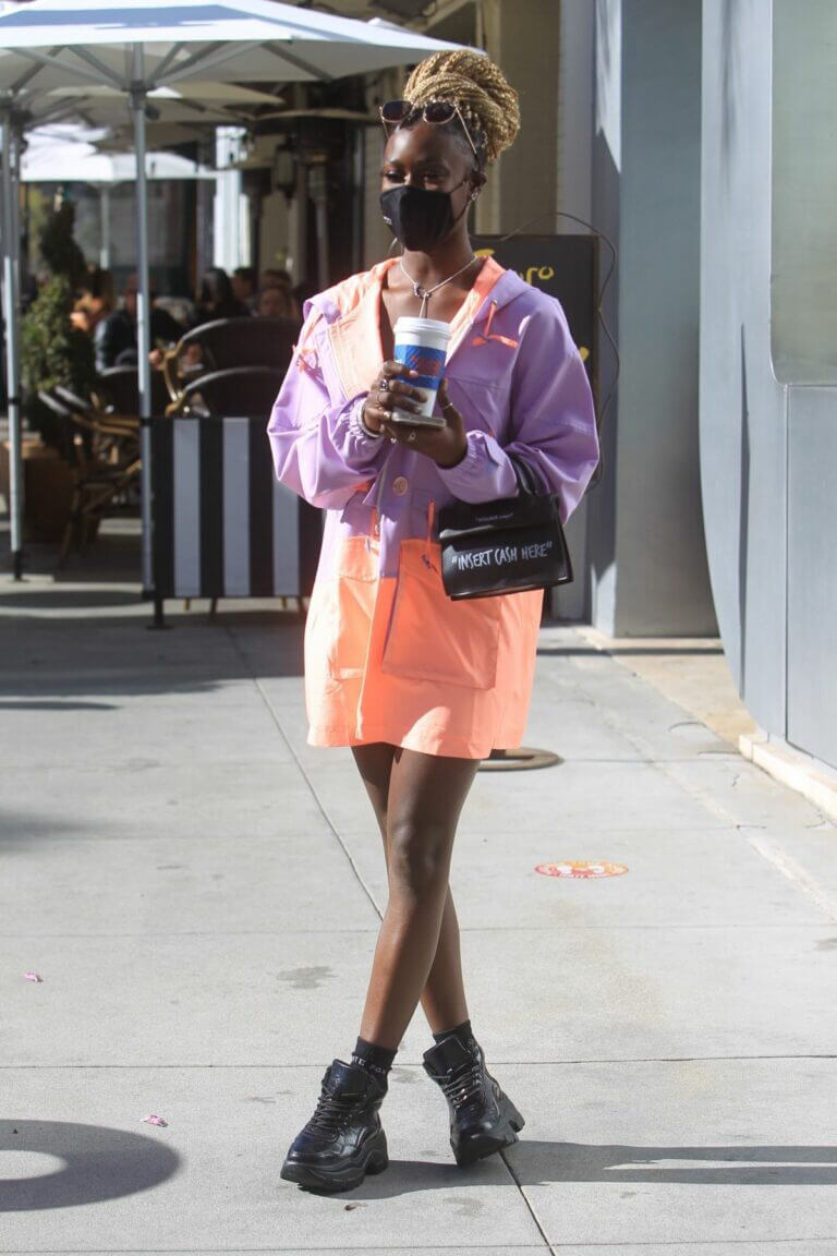 Diarra Sylla Day Out for Shopping in Beverly Hills 03/11/2021 3