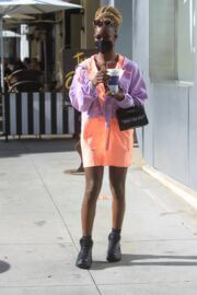 Diarra Sylla Day Out for Shopping in Beverly Hills 03/11/2021 7