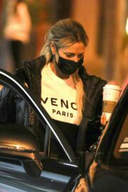Dorit Kemsley Day Out for Shopping at Couture Kids in West Hollywood 03/11/2021 4